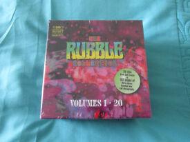 Rubble 20 Cd Boxed Set- New