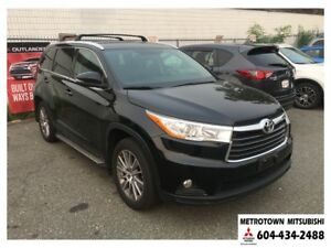 2016 Toyota Highlander XLE; Local & no accidents!