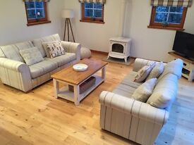 2 x SOFAS FOR SALE (3 str and 2 str) £350 from Next
