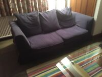 3 Seater Sofa Bed, used