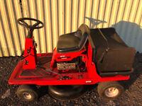 mtd pinto ride on lawnmower