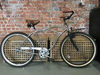 Chrome Cruiser single speed bicycle £200