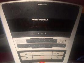 Pro form treadmill for sale