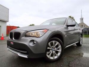 2012 BMW X1 xDrive28i + CUIR + TOIT PANO + NAVI!!!
