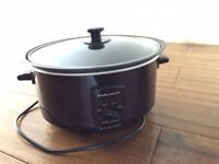 Morphy Richards Sear and Stew Slow Cooker - Black