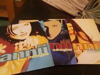 "Dannii Minogue 7"" records"