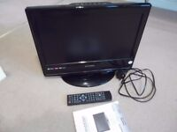 Digital LCD TV/DVD Television