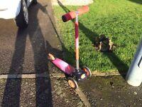 Child's Evo scooter
