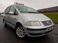 2004 Volkswagen Sharan Carrot 1.9 Tdi Pd 130bhp 7 Seater! Factory Booster/Baby Seats! Privacy Glass!