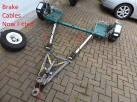 **INTERTRADE** Towing Recovery Dolly Braked Steered Car Van Vehicle A Frame Tow Towing Snap on Tools