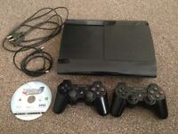 320GB Super Slim Playstation 3 for Sale! PS3 + extras! Bargain 60£ !!!