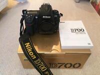 Full frame Nikon D700