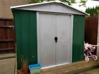 Yard master 6x8 metal shed