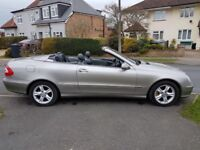 Mercedes CLK Convertible 2.6 Avant Garde Automatic, May part exchange