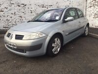 2005 RENAULT MEGANE 1.6 AUTO *** FULL YEARS MOT *** similar to golf astra corsa fiesta