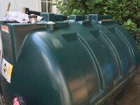 Unbunded 2000L Oil Tank