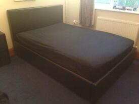 Double Bed Frame with Under Storage