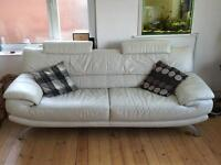 Leather sofa DFS 3 seater