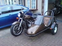 Goldwing with sidecar