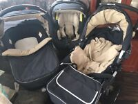 3in1 Jane Slalone Pro Travel System