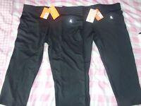 Ladies size 14 Workout Crop Legging (x2 pairs) BNWT