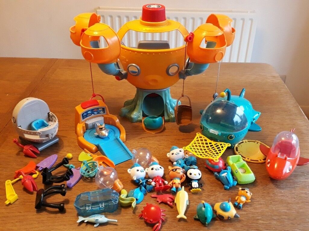 Octonauts Toys Includes The Octopod Gup A Gup B Build