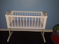 Brand new never been used crib