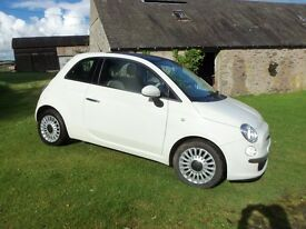 Fiat 500 Lounge. 41k miles, FSH and 12 months MOT, 2 owners.
