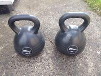 Kettle Bell X 2 £69 Ono