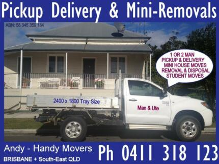 Ute Hire +Man Furniture Pickup Delivery Driver Whitegoods Courier Brisbane City Brisbane North West Preview