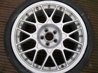 BBS 18 in SPLIT RIM ALLOY WHEEL OFF AUDI TT 3.2 V6 MK 1 QUATTRO
