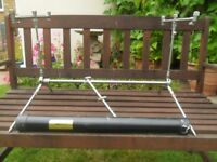 solar fishing rod pod