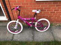 Girls bike 16inch wheel