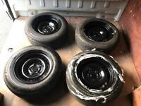 Banded Steel Wheels Brand New