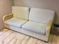 NATURAL RATTAN SOFA VERY GOOD CONDITION