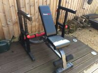 Body Max Adjustable Squat and Bench Press Rack