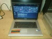 DJ Laptop with virtual dj - good condition