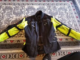 Richa Infinity Hi-Vis motorbike jacket Medium