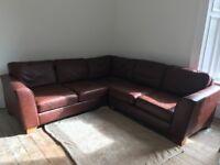 Leather L-Shape Sofa