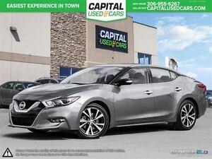 2016 Nissan Maxima *NAV*Leather* Htd Seats* Htd Steering Wheel*