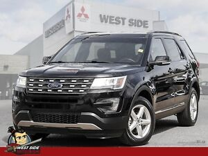 2016 Ford Explorer XLT-4WD-Rear View Camera-One Owner-Accident F