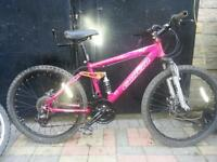 "CARRERA SOL 24 MOUNTAIN BIKE 24 "" WHEELS"