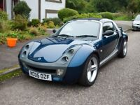 05 Plate SMART Roadster 80 bhp cabriolet FRESHLY FULLY SERVICED