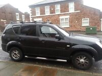 REXTON 2.7 Mercedes diesel engine 7 leather seats with tow bar OTO