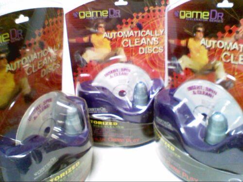 Lot of 3 GAME DR Game Disc Cleaner Repair Kit MODEL 60109