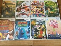 Nintendo Wii games all fab working order £2 each or 3 for £5