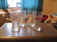 Drinking glasses...