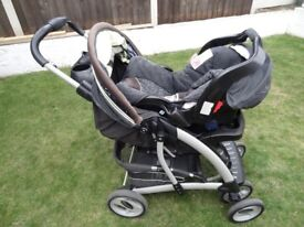 Graco Quattro Elite Travel System in Lemongrass