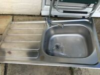 Stainless Steel sink and Monobloc tap
