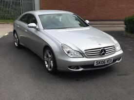 Mercedes Benz CLS320cdi low mileage lovely example!